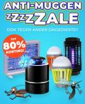Tot 80% Korting op 14 Anti-insecten producten tijdens de muggenzzzale voor vanaf €7,95 bij Voordeelvanger