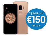 Tot €150 Cashback bij Galaxy S9 of S9+ bij Samsung