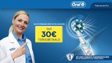 Tot €30 Cashback Oral-B bij Oral-B