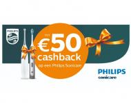 Tot €50 Cashback op Philips Sonicare tandenborstels bij Coolblue