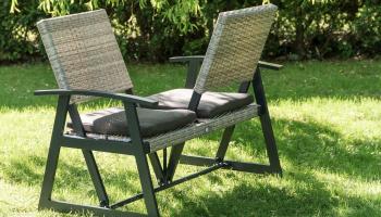 Tweepersoons tuinbank voor €219 bij Groupon