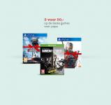 Vaderdag Promo 3 Games voor €50 bij Bol.com