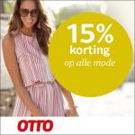 15% Korting op alle mode met kortingcode bij OTTO