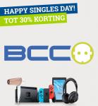 Tot 30% Korting met Singles Day bij BCC