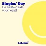 Tot 70% Korting met Singles Day bij Bol.com