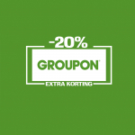 Tot 20% Kortingscode op alles bij Groupon