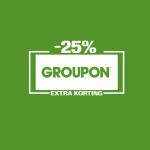 Tot 25% Extra korting met kortingscode op 5 Lokaal deals bij Groupon