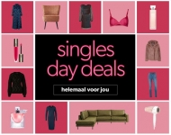 Tot 80% Korting met Singles Day bij Wehkamp