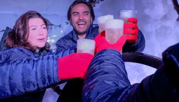 40% Korting Entree Icebar Amsterdam voor €14,95 bij Actievandedag