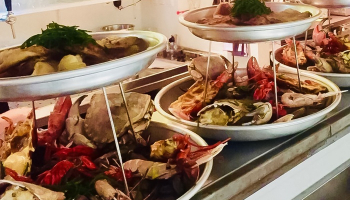50% Korting Visproeverij + Halve kreeft bij Restaurant Atlantique voor €17,25 p.p. bij Groupon