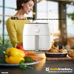 Win je aankoopbedrag terug: Philips Airfryer XXL HD9630/20 bij DealsTracker