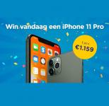 Winactie iPhone 11 Pro t.w.v. €1159 bij Social Deal